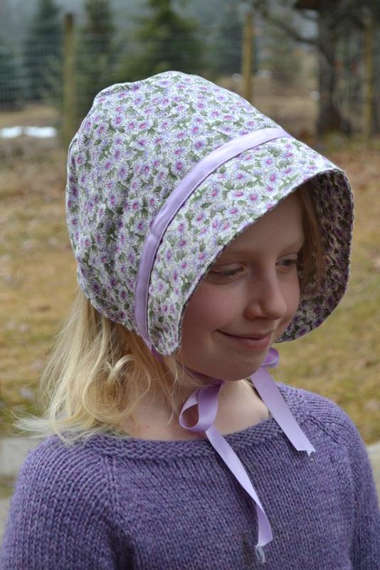 2016 - February - bonnet - lilac 1