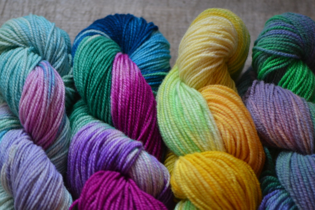 February 2016 - hand dyed yarn