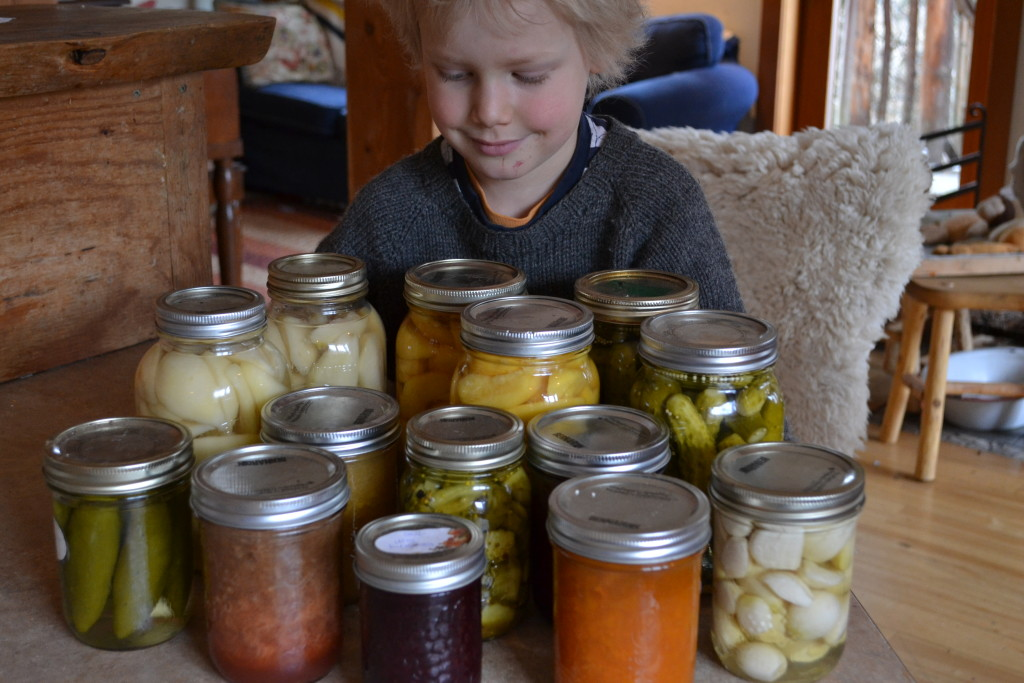 March 2016 - this month's canning 2