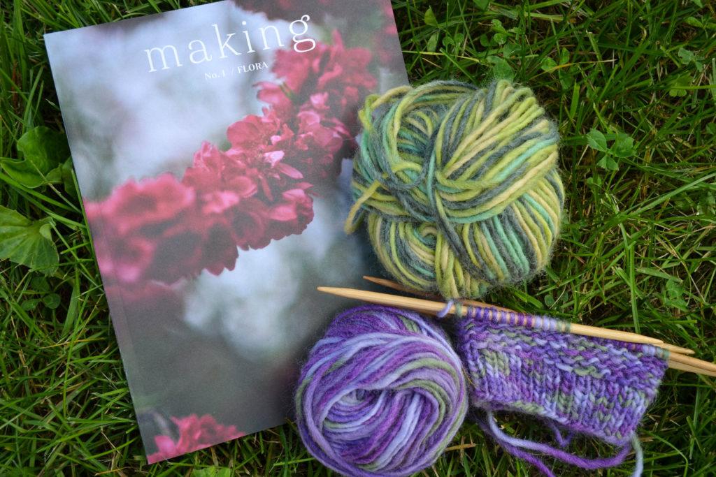 2016 - knitting...
